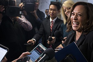 Sen. Kamala Harris Considers 'A Collection Of Factors' Related To Possible 20...