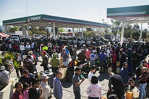 Widespread Gas Shortage In Mexico As Government Tries To Thwart Fuel Thieves