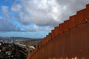 Once A Fence, Later Slats, Almost Always A Wall: Trump's Border Wall Contradi...