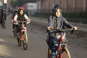 Women Who Dare To Bicycle In Pakistan
