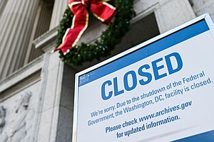 'Whatever It Takes': Government Workers Apply For Unemployment As Shutdown Dr...