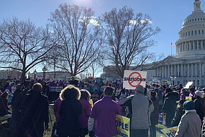 'Federal Employees Deserve Better': Workers Rally As Shutdown Frustration Builds