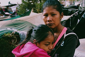 'I'm A Survivor Of Violence': Portraits Of Women Waiting In Mexico For U.S. A...