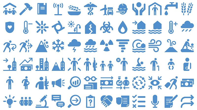 Can You Guess The Meaning Of These Humanitarian Icons? | KPBS