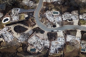 Shutdown Threatens To Stall Recovery In Wildfire-Ravaged ...