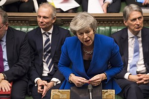 Amid Brexit Chaos, Theresa May's Government Survives Conf...