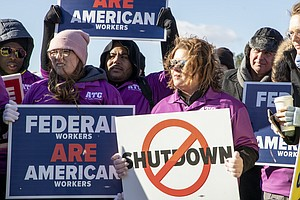 Federal Shutdown Has Meant Steep Health Bills For Some Fa...