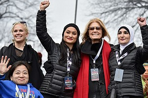 Women's March Divisions Offer Lessons For Democrats On Ma...