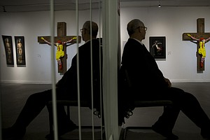 'McJesus' Sculpture To Be Pulled From Israeli Museum Afte...