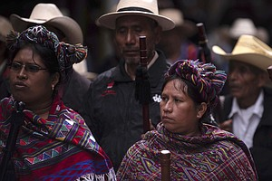 Killings Of Guatemala's Indigenous Activists Raise Specter Of Human Rights Cr...