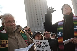 Provoked By Trump, The Religious Left Is Finding Its Voice