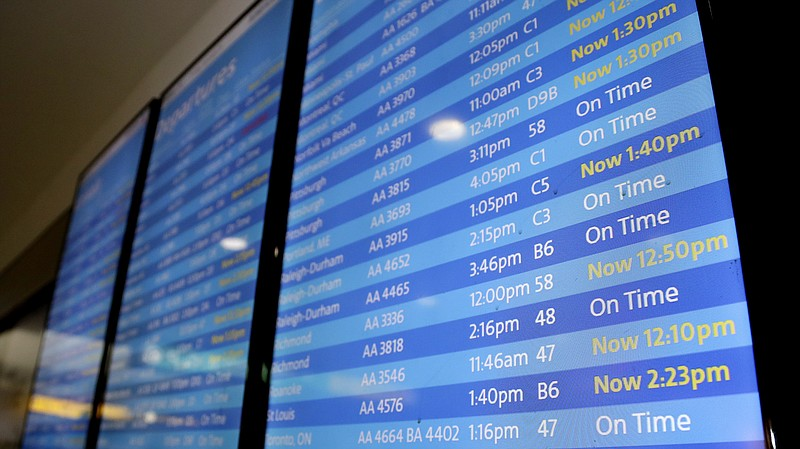 Flights at LaGuardia Airport in New York were delayed Friday morning as the F...
