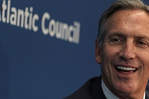 Ex-Starbucks CEO Howard Schultz Says He Wouldn't Be A Spo...