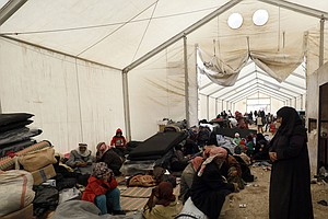 WHO Warns Of Dire Conditions, Deaths Of Children At Refug...