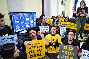 Despite Few Details And Much Doubt, The Green New Deal Ge...
