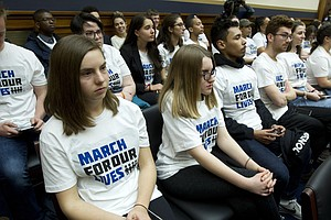 On The Hill, A Rare Gun Violence Hearing; In Denver, A Lo...