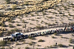 Southwest Border Apprehensions Show Small Decline In January