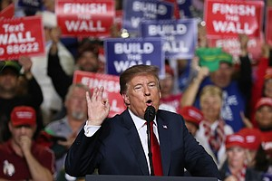 Trump Took Fight For Border Wall To El Paso — Where O'Rou...