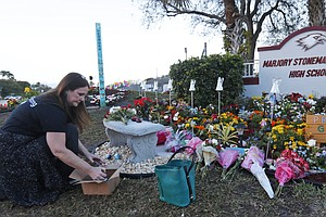 'We Live With It Every Day': Parkland Community Marks 1 Y...