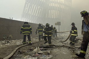 Photo for San Diego Firefighter Recalls Responding To 9/11 Attacks
