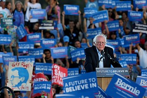Bernie Sanders To Hold Presidential Campaign Rally At Wat...