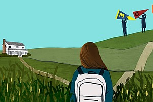 One Reason Rural Students Don't Go To College: Colleges Don't Go To Them