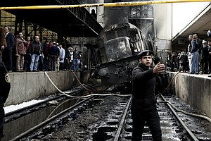 At Least 20 People Killed In Fire At Cairo's Main Train S...