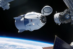 SpaceX Readies For Key Test Of Capsule Built To Carry Ast...
