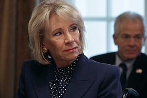 DeVos Announces Support For Proposed School Choice Tax Cr...