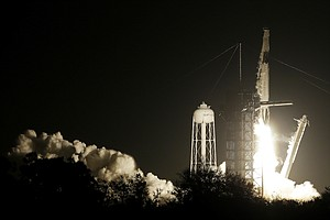 SpaceX Launches Capsule Bound For International Space Sta...