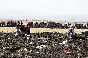 Ethiopian Airlines Flight Crashes, Killing More Than 150 ...
