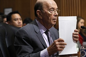 Commerce Secretary To Face Lawmakers In Hearing On Census...