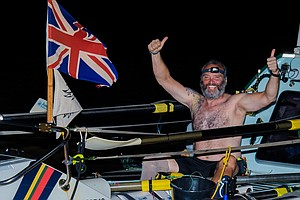 Former Royal Marine Becomes 1st Amputee To Row Solo Across Atlantic
