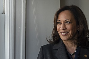 In Her Pitch For President, Kamala Harris Focuses On Crim...