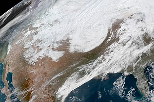 'Bomb Cyclone' Paralyzes Central U.S., Bringing Snow, Floods And Dangerous Winds