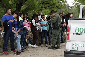 Immigration System At The 'Breaking Point,' Homeland Secu...