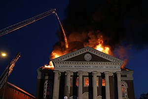 Historic Manuscripts Saved From St. Louis Fire