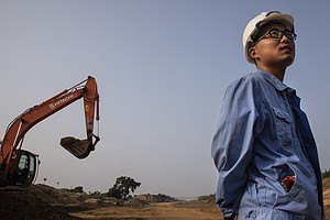 China's Global Construction Boom Puts Spotlight On Questionable Labor Practices