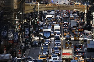 New York Is Set To Be First U.S. City To Impose Congestion Pricing