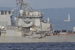 Navy Drops Criminal Charges Against Officers In USS Fitzg...