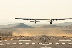 With A Wingspan Wider Than A Football Field, The World's Largest Plane Takes ...