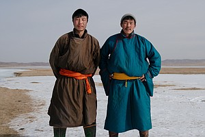 For Mongolia's Ice Shooters, Warmer Winters Mean A Shorte...