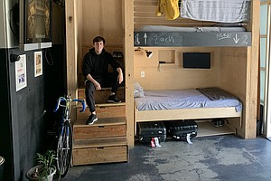 The Affluent Homeless: A Sleeping Pod, A Hired Desk And A...