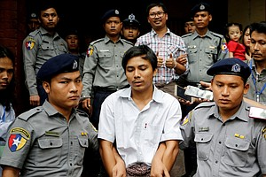 Reuters Journalists Jailed In Myanmar Lose Appeal, Will S...