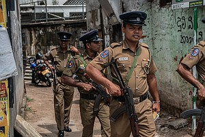 Sri Lanka's Military Reports 15 Deaths In Shootout During...