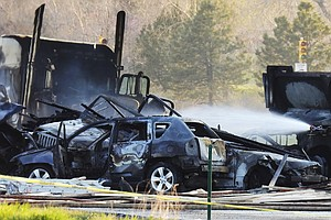 Colorado Highway Crash: At Least 4 People Killed In Fiery 28-Vehicle Pileup