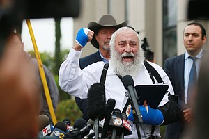 'I Couldn't See His Soul' Says Rabbi Following Deadly Sho...