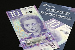 New Canadian Currency Features Civil Rights Activist, Win...