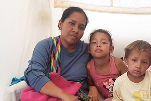 Venezuelans Find Temporary Lifeline At Colombia's First B...