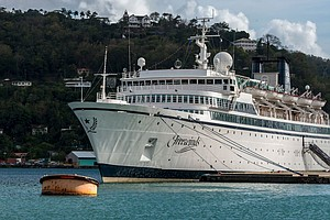 Scientology Cruise Ship Heads To Curaçao After St. Lucia Quarantines It For M...